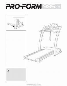 Proform 985cd Coach Treadmill