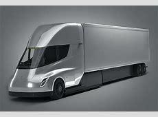 3D energy Tesla semi truck CGTrader