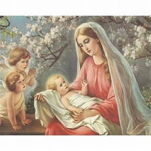 2018 Virgin Mary And Child Jesus Diy Diamond Painting ...