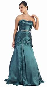 robe de soiree bustier verte longue mode et fashion With robe de soiree bustier