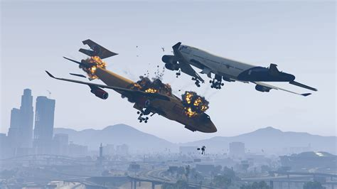 Dynamic Plane Crashes