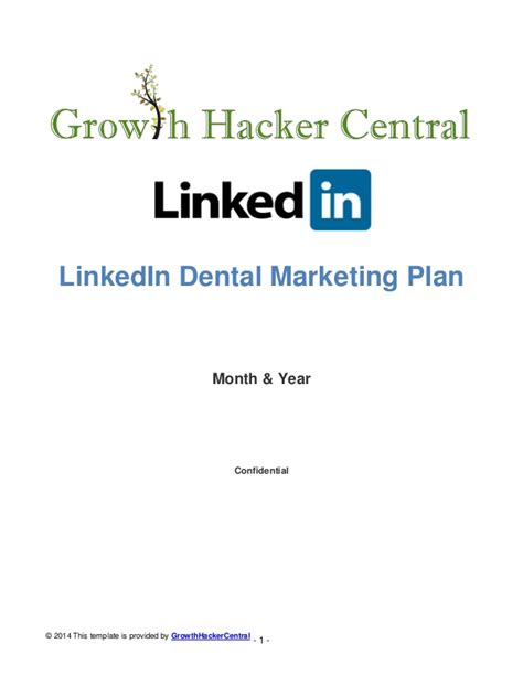 Linkedin Strategy Template by Get More Quality Cosmetic And Dental Implant Patients With