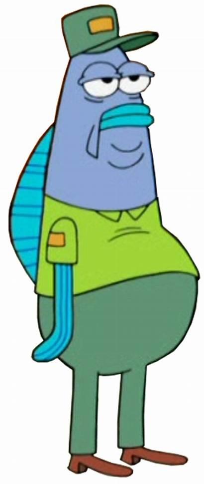 Spongebob Snail Bites Company Worker Episodes Film