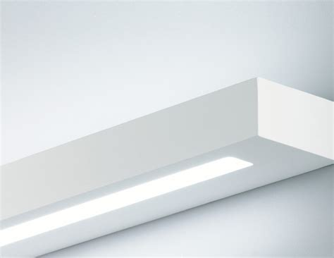 linear plaster wall light for t5 l