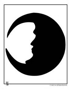 Halloween Moon Template