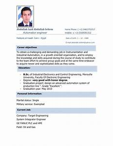 automation resume With automation resume