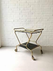 Barwagen Art Deco : art deco barwagen vintage servierwagen teewagen messing barwagen teewagen pinterest ~ Sanjose-hotels-ca.com Haus und Dekorationen