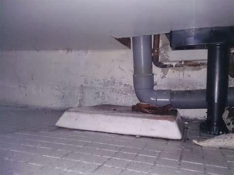 fuite tuyau 233 vacuation lave linge et 233 vier bouch 233
