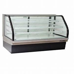master bilt bakery display case 80quot curved glass non With glass document display case