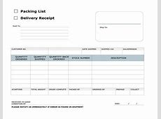 Delivery Receipt Template Excel calendar template excel