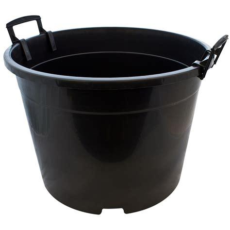 corrugated drain pipe 35 litre plant pot