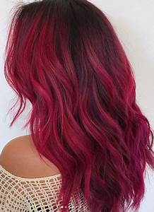 Cool Magenta Toned Red Hair Crazy Colored Hair
