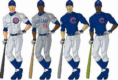 Uniforms Professional Chicago Cubs Uniform Combinations