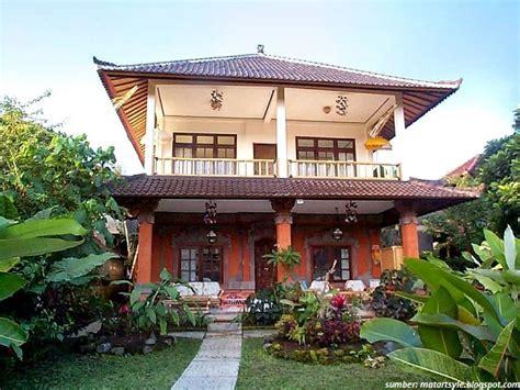 Model Rumah Adat Bali