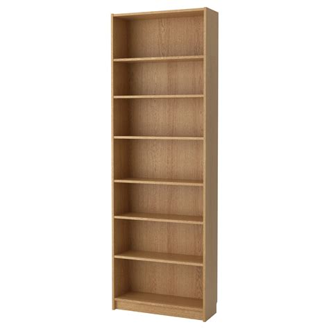ikea com billy bookcase billy bookcase oak veneer 80x237x28 cm ikea