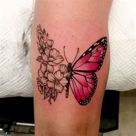 awe inspiring men butterfly tattoo design butterfly