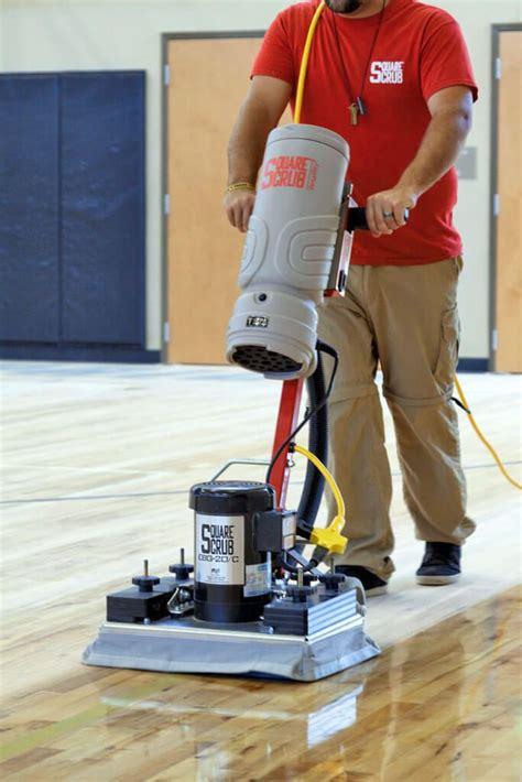 ebg  floor surface preparation machine square scrub