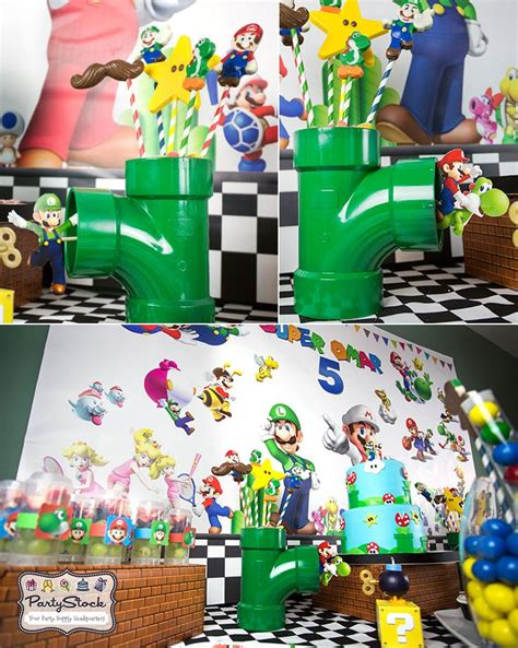 Blog  Super Mario Themed Birthday Party Party Supplies