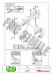 Fixed Flange Towbar   7pin Wiring For Fiat Ducato 4x4 Pick
