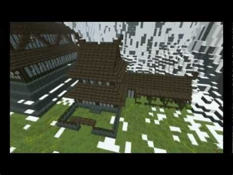 japanese stables minecraft map