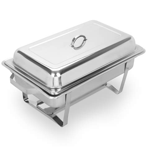 8 Pack Chafing Dish Sets 8 Quart Full Size Catering