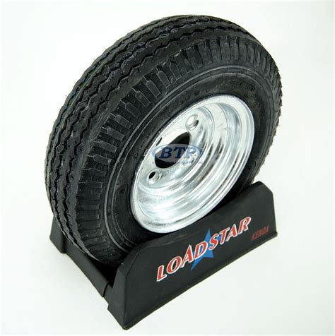 Boat Trailer Tires by Boat Trailer Tire 4 80 X 8 On Galvanized Wheel 4 Lug
