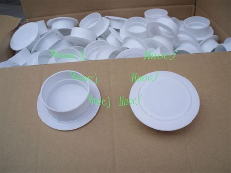 Wall Hole Cover Through Plastic Sleeve Slim Duct Plastic