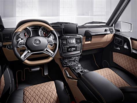 mercedes g class interior 2016 mercedes g klasse designo 2016 afbeeldingen autoblog nl