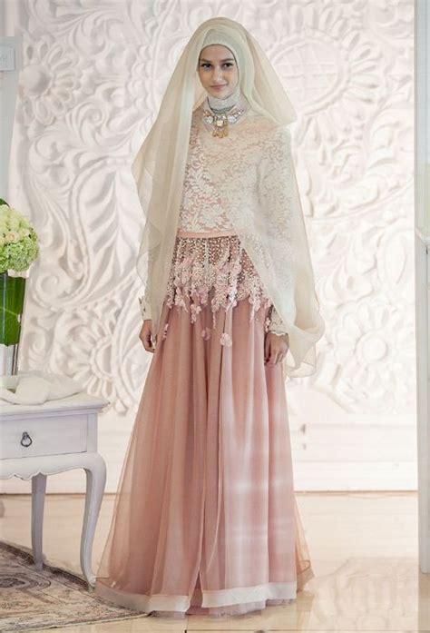 model baju kebaya pengantin muslim kekinian