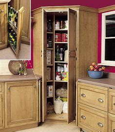 Corner Pantry Cabinet Ideas by 1000 Images About Corner Storage Ideas On