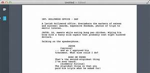 image gallery screenwriting template With screenwriting templates