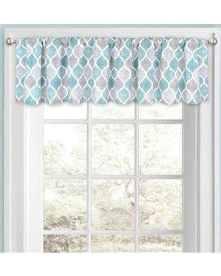 Teal Blue Window Valance by Teal Window Valance Best Home Decorating Ideas