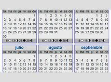 Calendario lunar 2016 elembarazonet