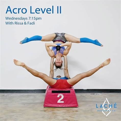 We did not find results for: Acro level 2 class going on in just a bit at 715pm at @teamlache! Tonight Rissa and I will be ...