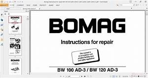 Bomag Instructions For Repair Bw