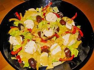 Honig Senf Sauce Salat : eisbergsalat mit ziegenk se und senf honig sauce rezept mit bild ~ Watch28wear.com Haus und Dekorationen