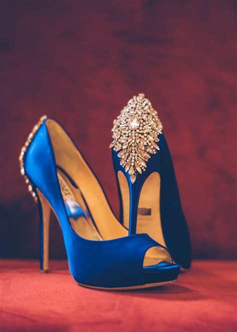 whimsical chicago wonderland styled shoot cobalt blue