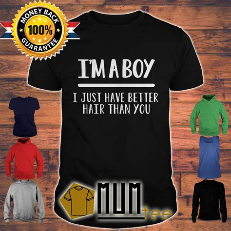 im  boy     hair   shirt