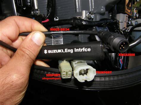 suzuki nmea  newtork standard suzuki gauges