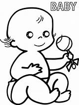 Coloring Baby Pages Newborn Pacifier Printable Precious Moments Print Face Boss Getcolorings Child Toddler Onl Getdrawings Template sketch template
