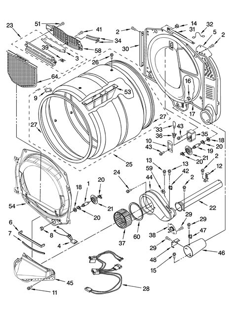 kenmore he2 dryer wiring diagram i have a kenmore he2 gas dryer we cleaned the lint area today