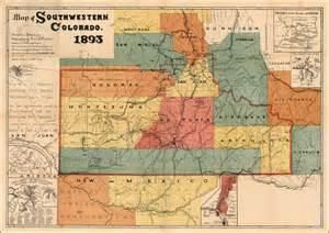 Southwestern Colorado Map