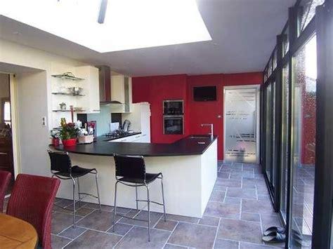 extension cuisine veranda cuisine extension rêve de cuisine dans une véranda