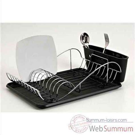 distributeur de rouleaux de papier cuisine egouttoir à vaisselle inox avec porte verres à pied de