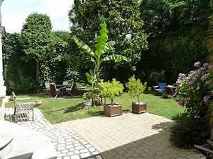 hotel particulier avec garage annexes et tres beau jardin With photo de jardin de particulier 3 jardin particulier aquarelle decoration