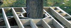 diy bench  tree  diy projectsthat