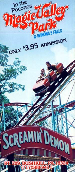 Theme Park Brochures Magic Valley Park - Theme Park Brochures