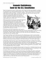 Native American... Iroquois Constitution Quotes