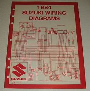 1984 Suzuki Wiring Diagram Manual Alt Lt Dr Gs Pe 50 100