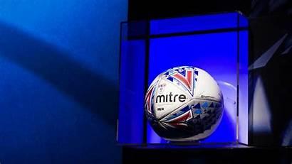 Efl Mitre Matchball Ball Football Match Legend